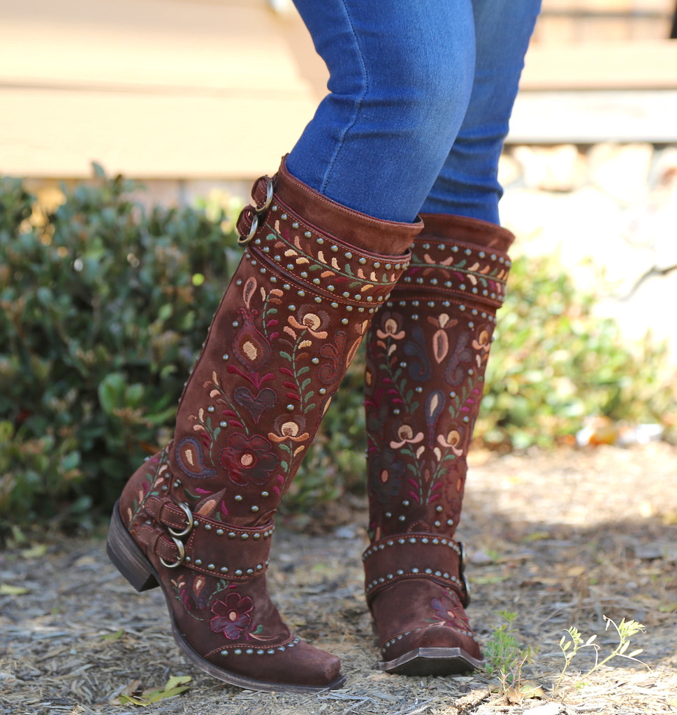 Double D by Old Gringo Travelers & Traders Brunette Boots DDL032-1 Picture