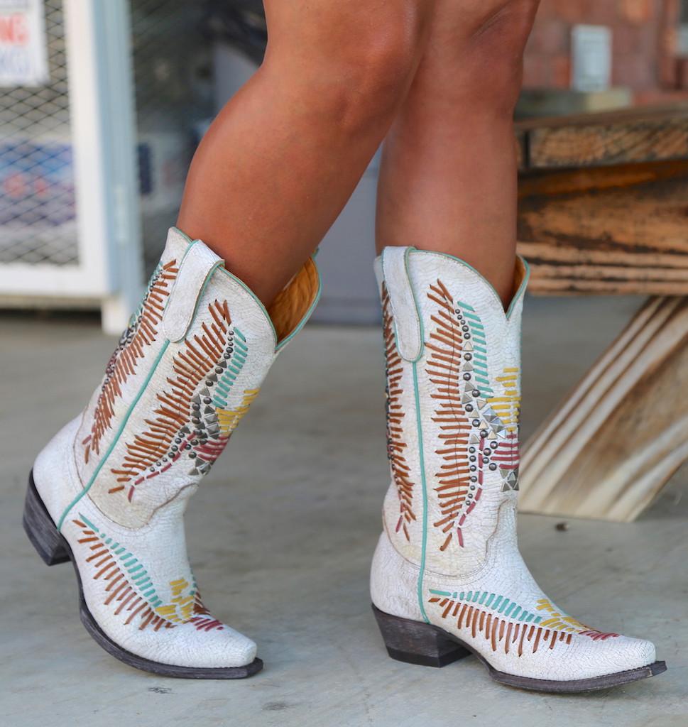Old Gringo Harper Milk Boots L2971-2 Picture