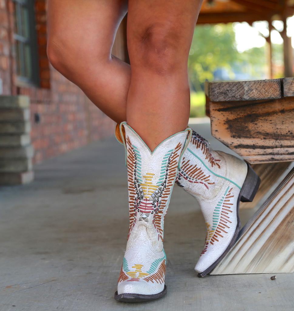 Old Gringo Harper Milk Boots L2971-2 Image