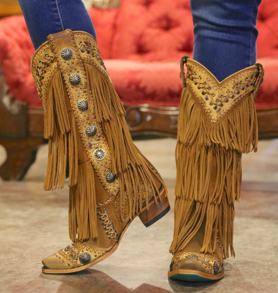 Lane Wind Walker Tan Boots LB0378A Toe