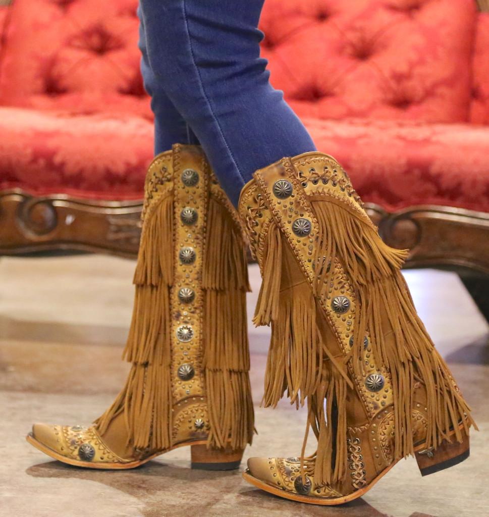 Lane Wind Walker Tan Boots LB0378A Picture
