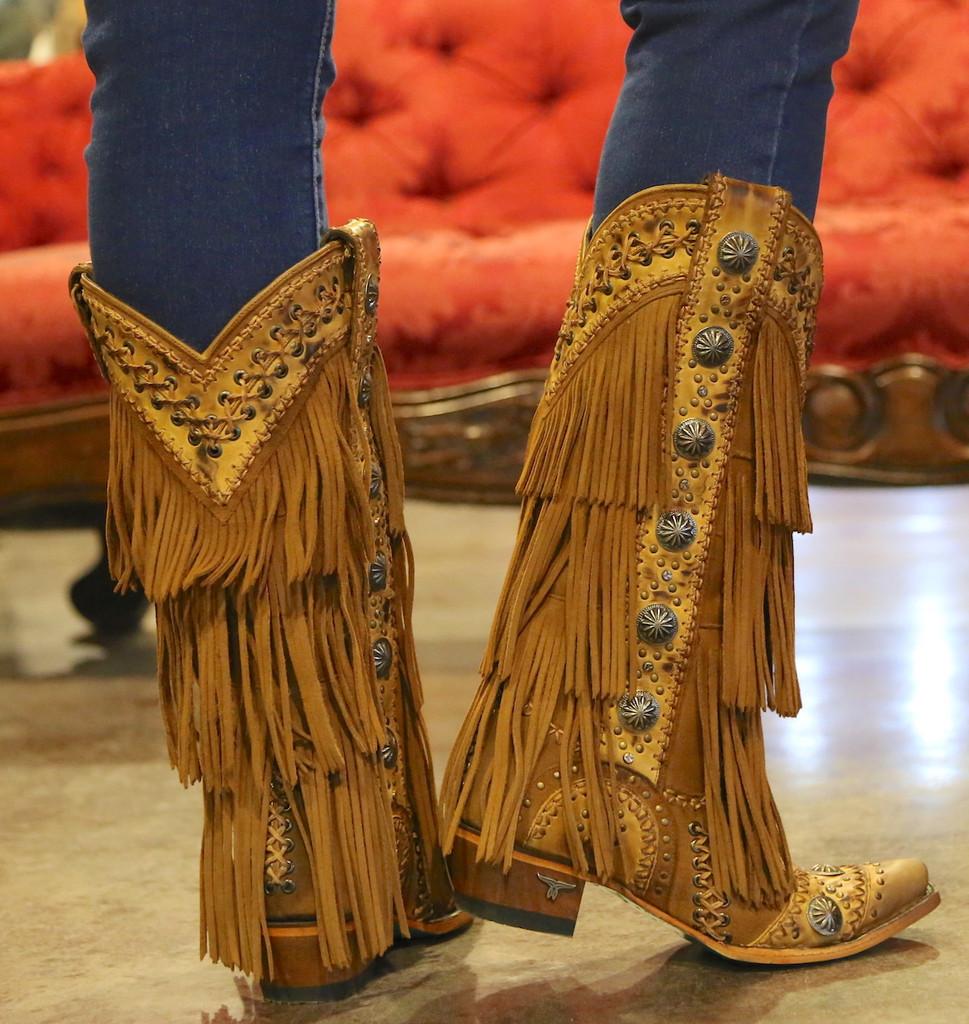 Lane Wind Walker Tan Boots LB0378A Heel