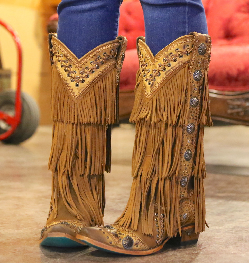 Lane Wind Walker Tan Boots LB0378A Front