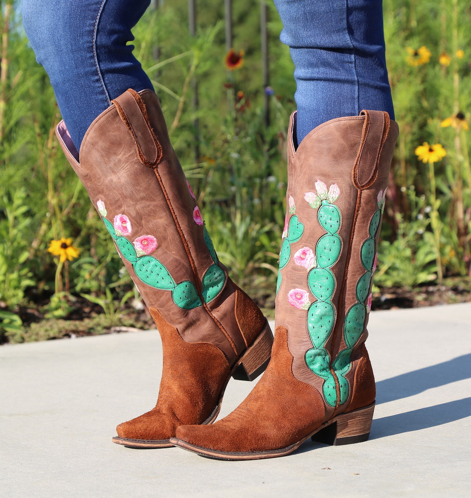 Junk Gypsy by Lane Hard to Handle Rust Boots JG0012A Picture