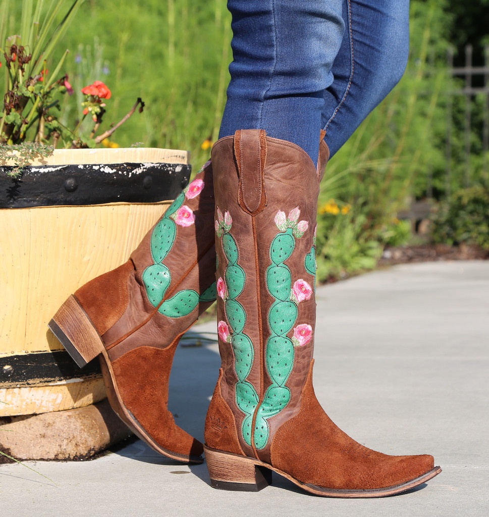 Junk Gypsy by Lane Hard to Handle Rust Boots JG0012A Image