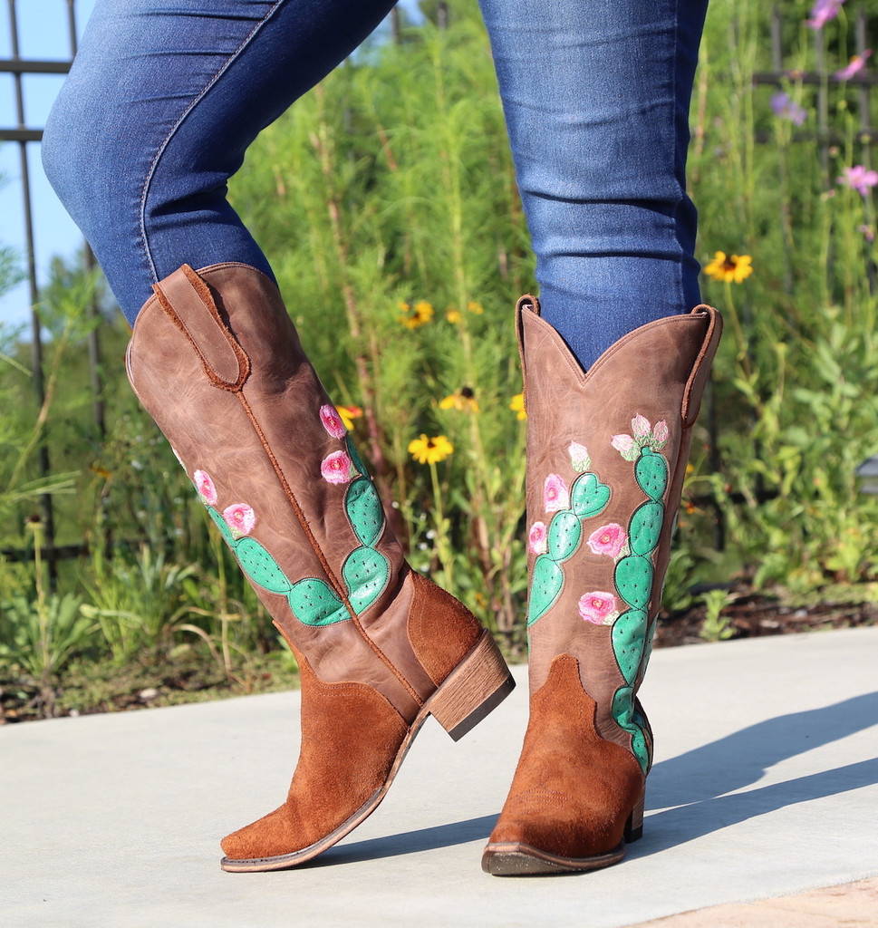 Junk Gypsy by Lane Hard to Handle Rust Boots JG0012A Side