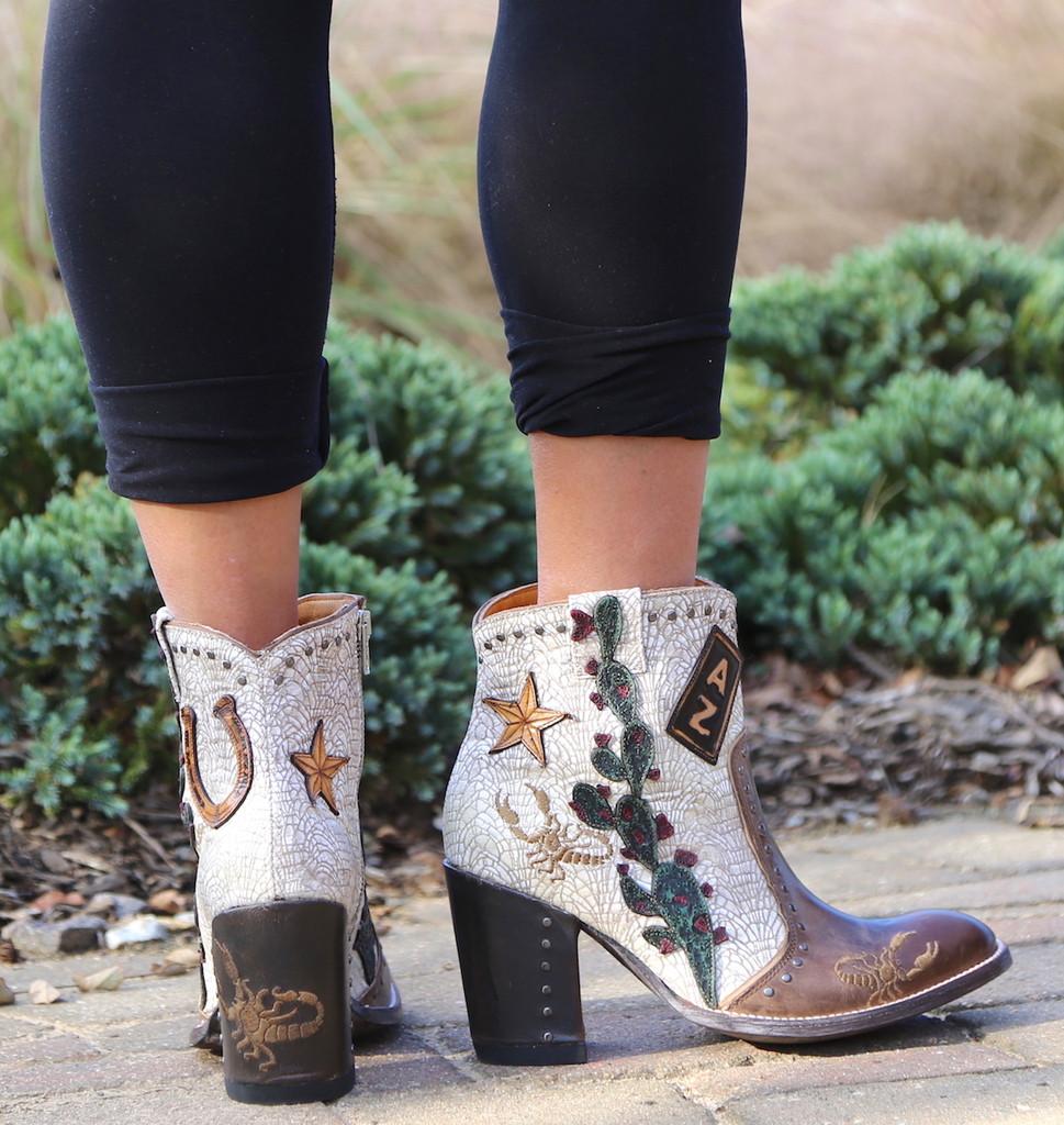 Old Gringo Galena Milk Boots BL3086-2 Picture