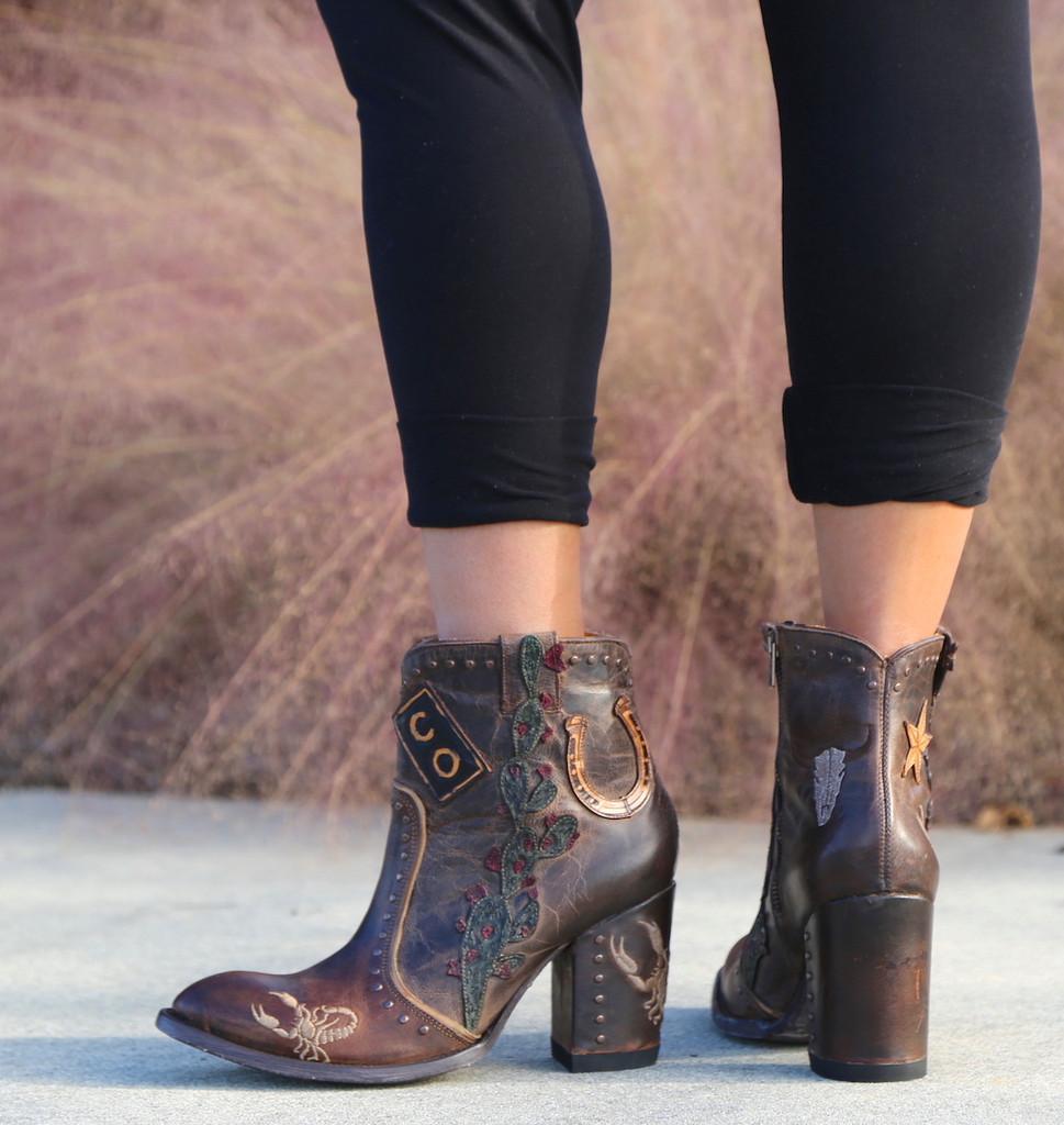 Old Gringo Galena Rust Boots BL3086-1 Heel