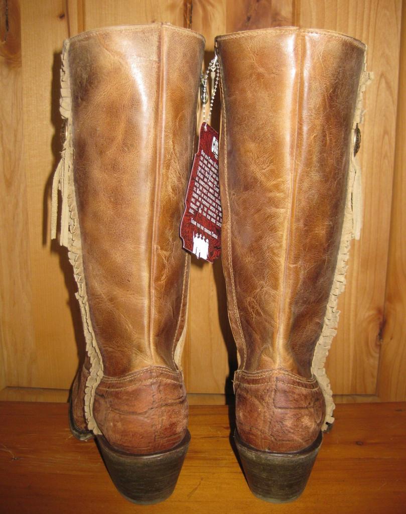 Corral Vintage Cognac Deer Zipper Boot C1610