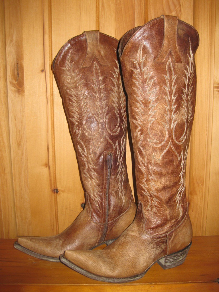 Old Gringo Mayra Brass Boots L601-3 Left