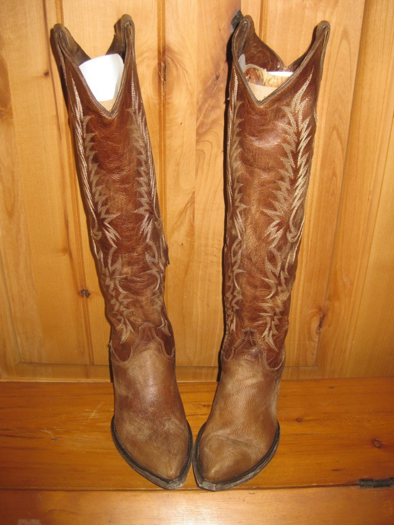 Old Gringo Mayra Brass Boots L601-3 Front