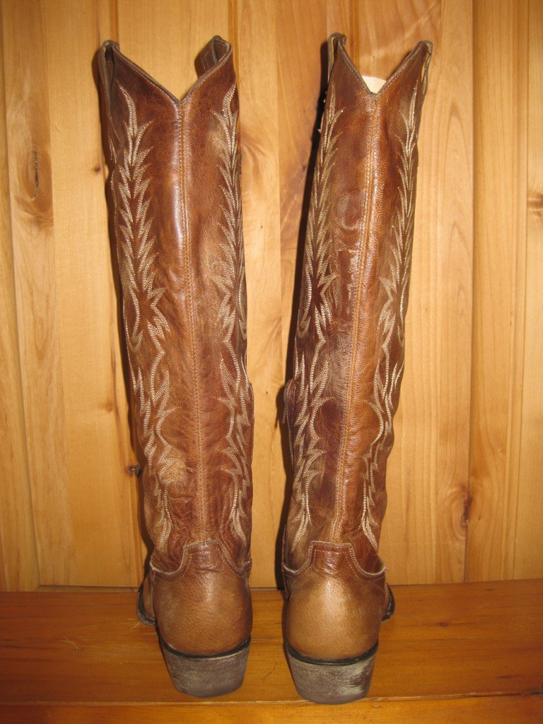 Old Gringo Mayra Brass Boots L601-3 Back