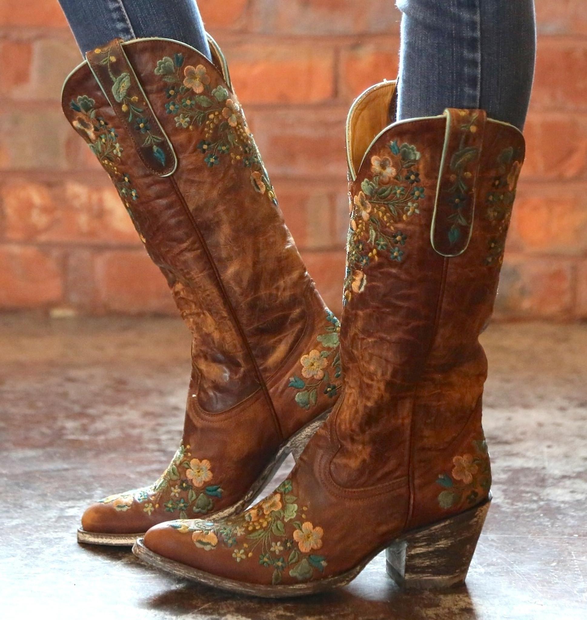 Old Gringo Sora Brass Teal Boot Old Gringo Boots L841 4