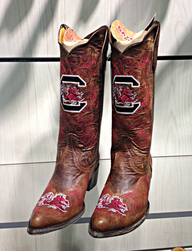Gameday University of South Carolina Women's Boots USC-L086-1