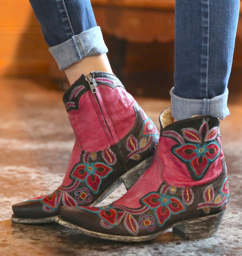 Old Gringo Marrione Zipper Boots L1036-3 Picture