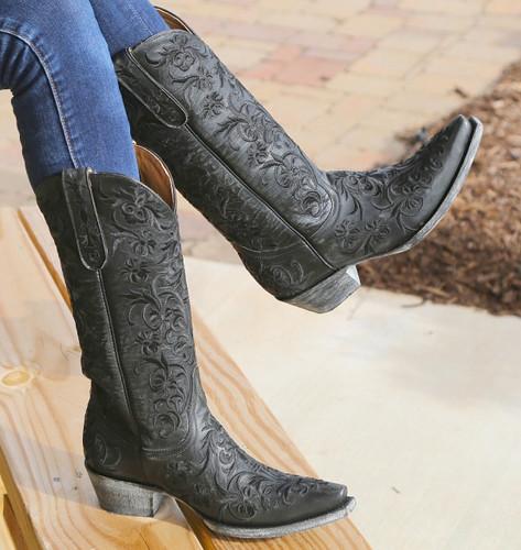 Old Gringo Clarise Black Boots L1266-5 Picture
