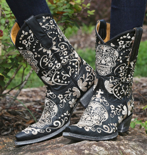 Old Gringo Klak Black Boots L1300-4 Picture