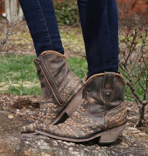 Liberty Black Vintage Canela Boots LB711222 Picture