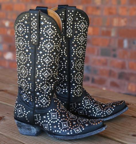 Old Gringo Difama Black Boots L2006-2 Picture