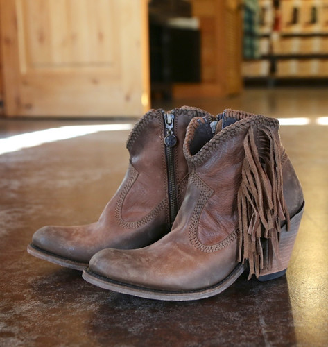 Liberty Black Vegas Faggio Acabado Tambor Boots LB712320 Picture