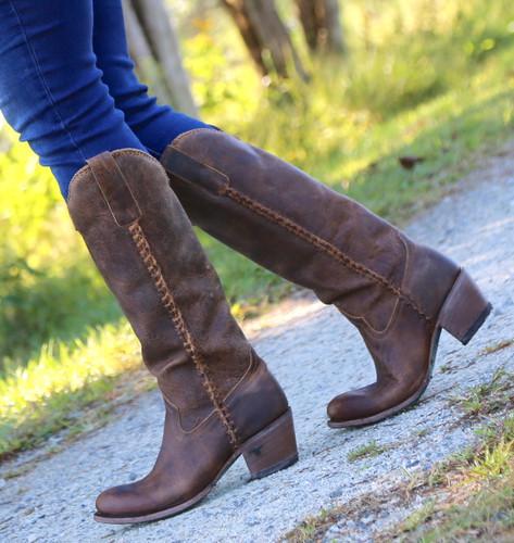 Lane Plain Jane Brown Boots LB0350A Walk