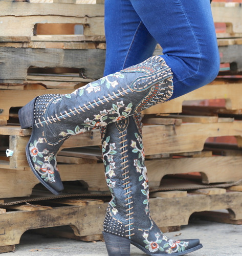 Double D by Old Gringo Almost Famous Black Boots DDL026-2 Photo