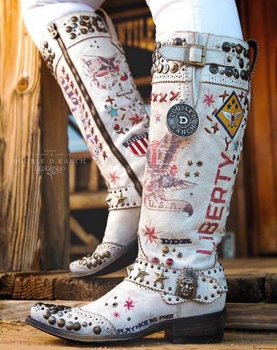 Double D by Old Gringo Liberty and Justice Boot DDL020-1 Picture