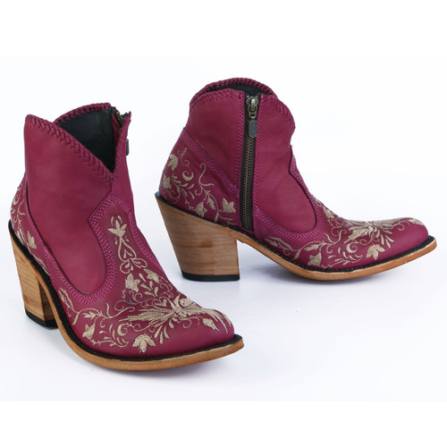 Liberty Black Valerie Short Embroidery Bordeaux LB712324