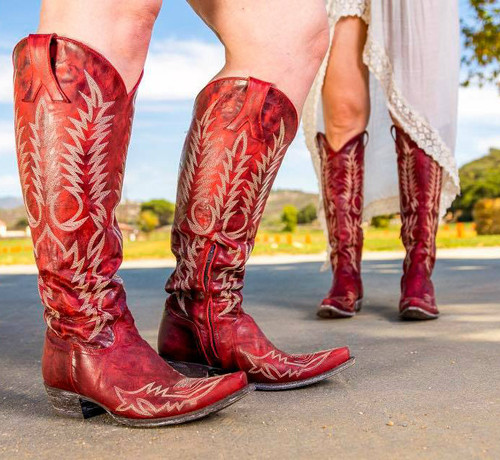 Old Gringo Mayra Red Relaxed Fit Boots L1213-1 Picture