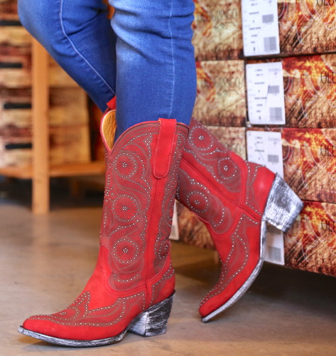Old Gringo Valentine Red Boots L2774-2 Picture