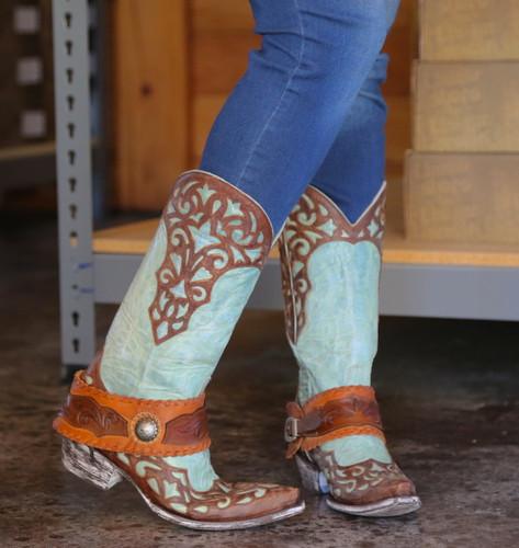 Old Gringo Josefhine Aqua Boots L2848-1 Picture