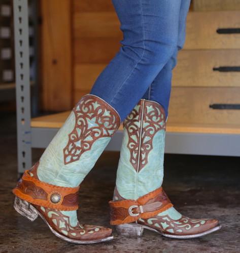 Old Gringo Josefhine Aqua Boots L2848-1 Walk