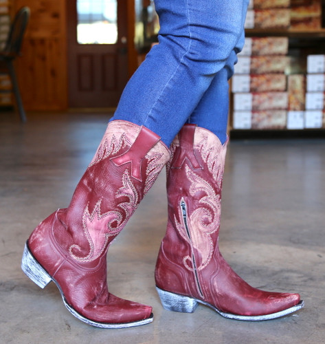 Old Gringo Marsell Rustic Wine Boots L2832-2 Walk