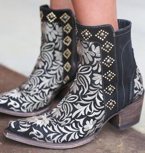 Old Gringo Wink Black Boots BL2985-1 Detail