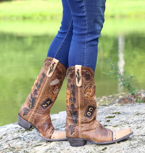 Old Gringo Route 66 Saddle Boots L3056-2 Walk