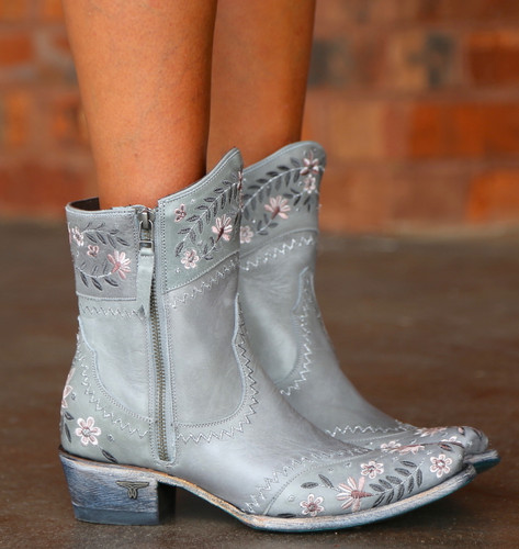 Lane Landrum Gardens Grey Boots LB0387B Picture