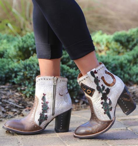 Old Gringo Galena Milk Boots BL3086-2 Walk