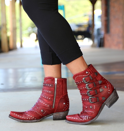 Old Gringo Jaylene Red Boots BL3099-2 Picture
