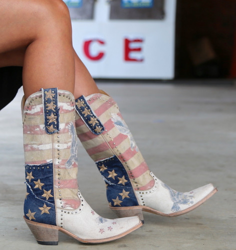 Yippee Ki Yay by Old Gringo Jorie Taupe Boots YL339-1 Picture