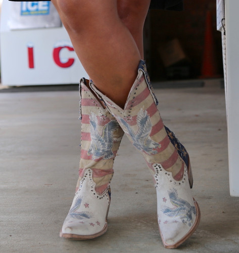 Yippee Ki Yay by Old Gringo Jorie Taupe Boots YL339-1 Stripes