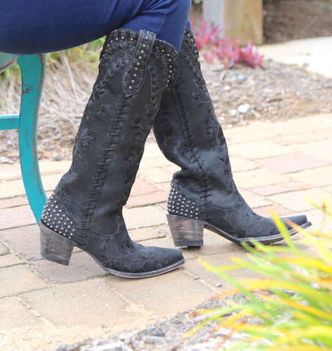 Double D by Old Gringo Almost Famous Black Boots DDL026-4 Photo