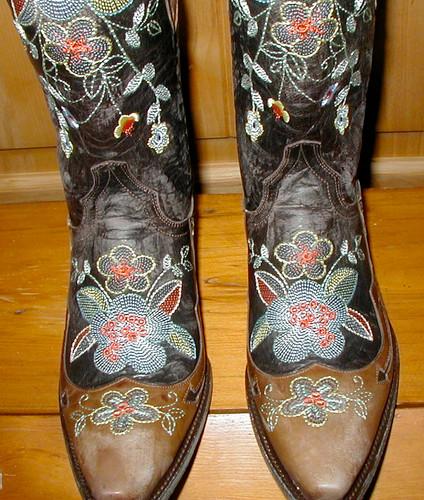Old Gringo Bonnie Brass Boots L649-1 Toe