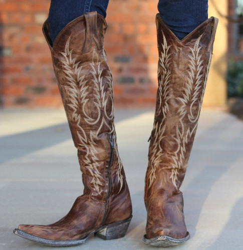 Old Gringo Mayra Brass Boots L601-3