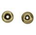 53009 (8mm) Brass Rivet Backpart