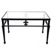 Star Design Coffee Table with Glass top