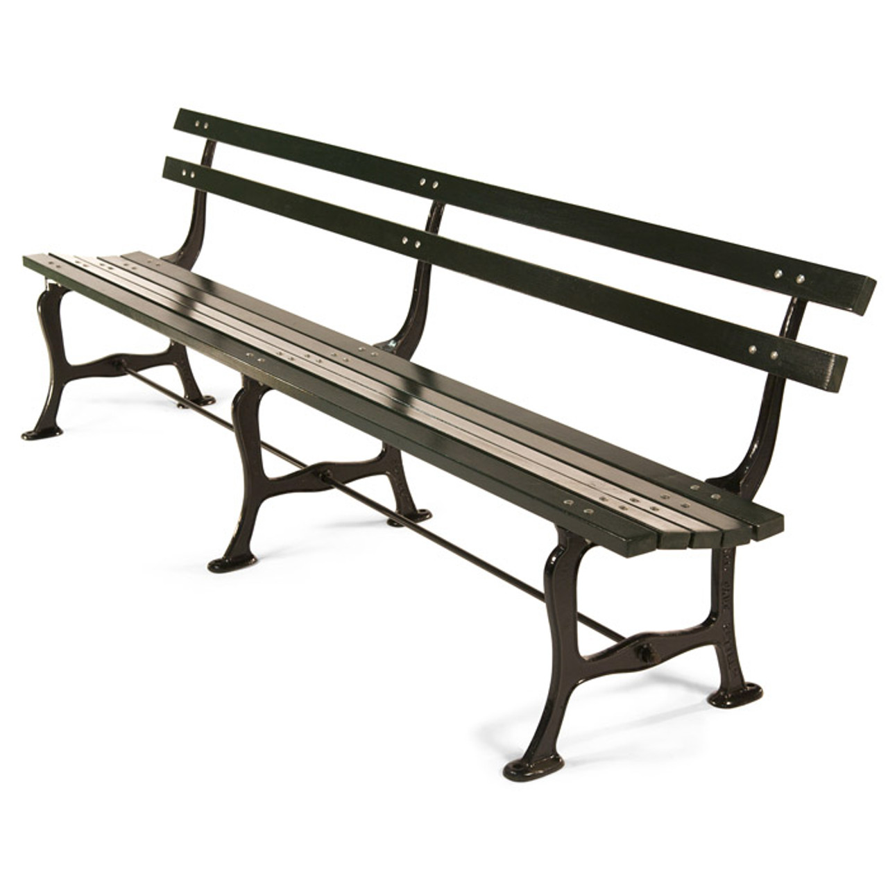 Central Park Settee Kenneth Lynch And Sons - Park bench and table
