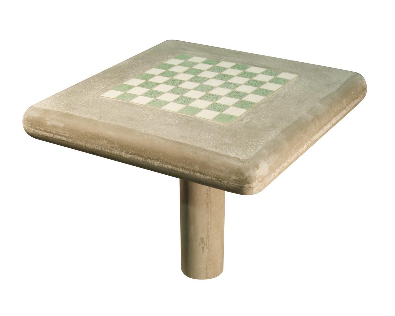 Ordinaire Concrete Chess Table