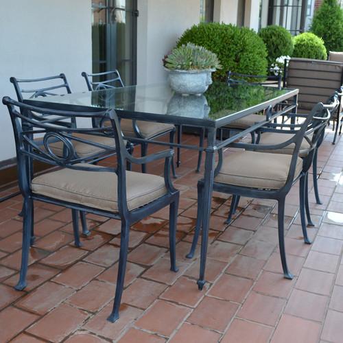 Star Design Dinning Rectangular Table