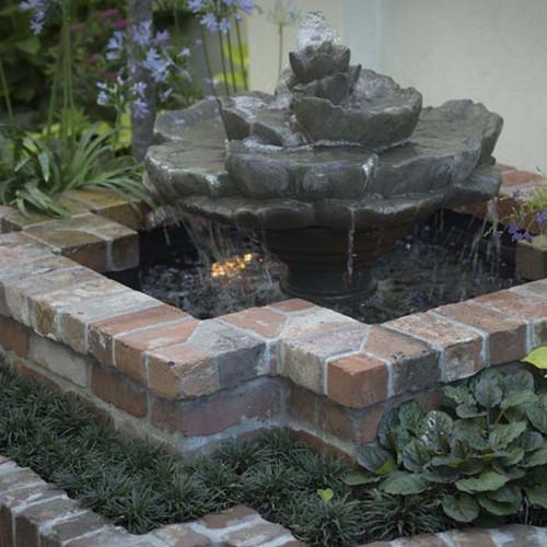 Lotus Birdbath