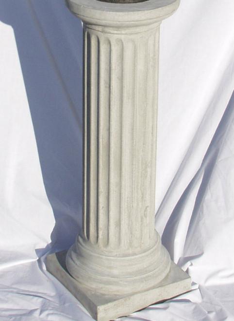 Fluted Pedestal